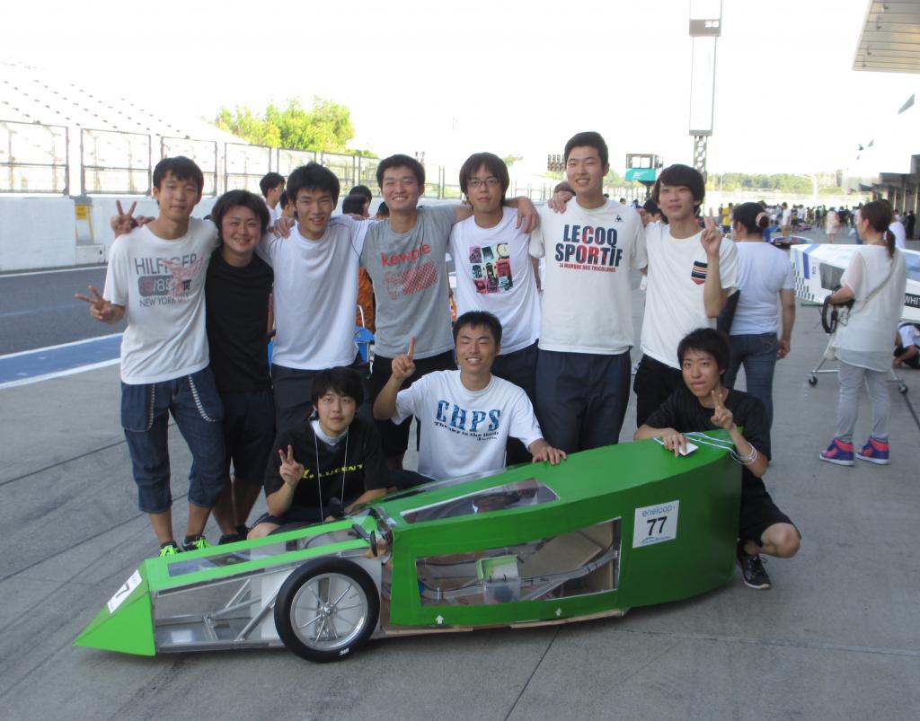 Ene-1GP KV-40チャレンジ全国大会KV-2b 大学、高専、専門学校部門で優勝